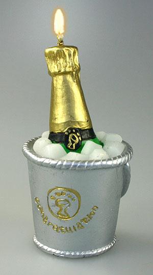 La Bougie Seau à Champagne