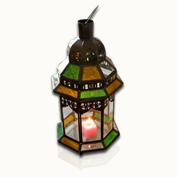 lanterne bougie marocaine